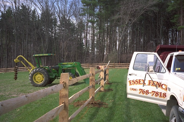 Essex Fence Company uses its own crews and the highest-quality tools.